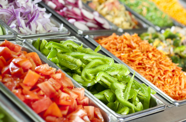 8.</p><h3>Salad<br />bar</h3><p>